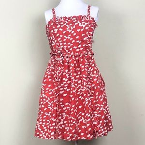 Marc by Marc Jacobs Red & White Heart Dress Size 2